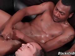 Caden Grey, Brooklyn and Steel First Interracial Sex